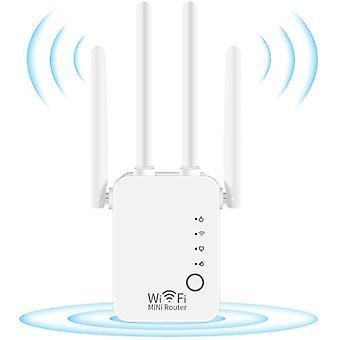 FengChun WLAN Repeater, 300Mbps WLAN Verstärker 2,4GHz WiFi Range Extender mit