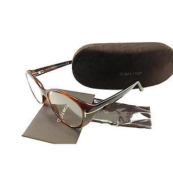 Tom Ford Okulary Rama TF5245 052 Havana Brown Włochy Wykonane 53-15-135