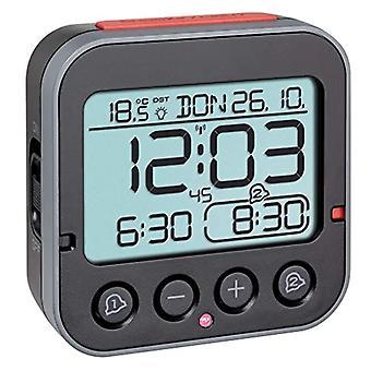 TFA Dostmann - Bingo 2.0 digital alarm clock, with temperature indicator, 2 alarm clocks, color: white, length 95 x Ref. 4009816032980