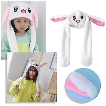 Magic Rabbit Hattu Liikkuva Korva Pehmät lelu, Lapset, Party Photo