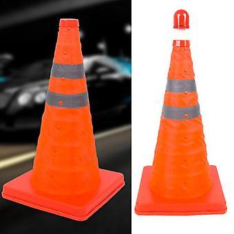 Cone Warning Sign