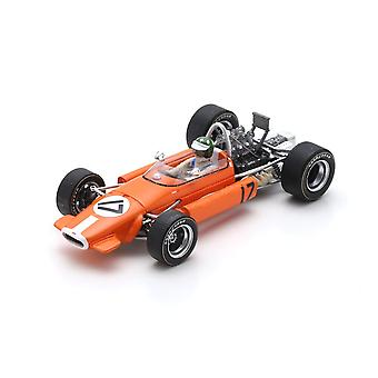 Brabham BT24 (Silvio Moser - Monaco GP 1969) Resina Modelo Coche