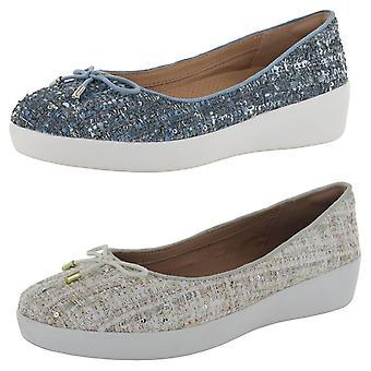 Fitflop Zapatos 'Superchic Ballerinas - Luxe-Tweed' de Mujer