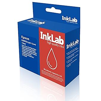 InkLab 805 Epson Compatible Light Cyan Replacement Ink