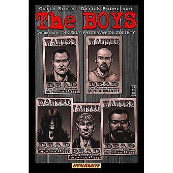 The Boys  Volume 6: Self-Preservation Society