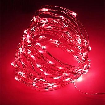-Kupfer Draht Led String Lights Urlaub Beleuchtung Fee Girlande