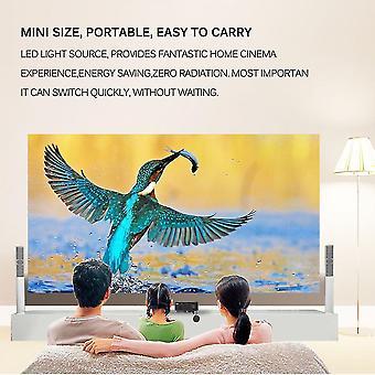 Pro Hdmi portabil Mini Led Entertainment Proiector Home Cinema Theater