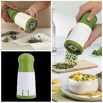Herb Grinder Spice Mill Parsley Shredder Fruit Chopper Vegetable Cutter