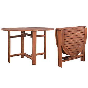vidaXL garden table 120x70x74 cm acacia solid wood