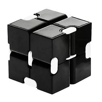 Legetøj Stress Lindre Fidgeting Spil for børn og voksne, cute Mini Unique Gadget (Sort)