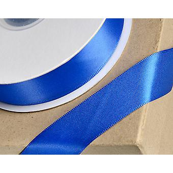 25m Royal Blue 15mm Wide Satin Ribbon Cracker Ties