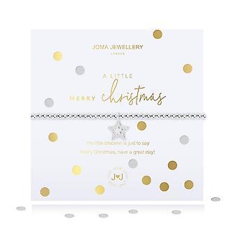ג'מה תכשיטים קונפטי קצת שמח צמיד חג המולד 4904