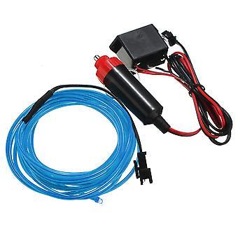 300cm EL Neon Licht Effekt Licht Kabel Kabel Kabel Draht 12V Wechselrichter BLAUE FARBE