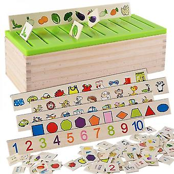 Mathematical Knowledge Classification Cognitive Matching Kids Montessori Early Educational