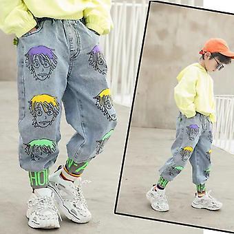 Spring Autumn Jeans Pants