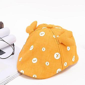 Baby Cotton Beret Hat Czapka dla dzieci Summer Autumn Denim Jean Stripe Flat Caps