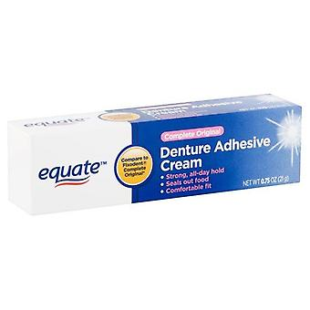Equate 0.75 Oz. Complete Original Denture Adhesive Cream