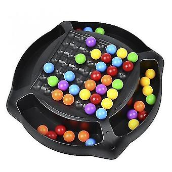 Caraele Rainbow Ball Matching Toy Colorful Fun Puzzle Board Game