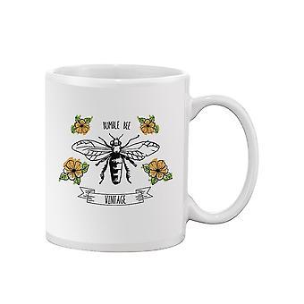 Vintage Bumble Bee Mug -SPIdeals Designs