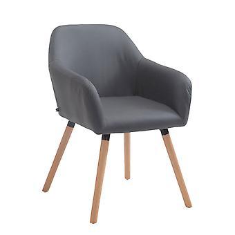 Esszimmerstuhl - Esszimmerstühle - Küchenstuhl - Esszimmerstuhl - Modern - Grau - Holz
