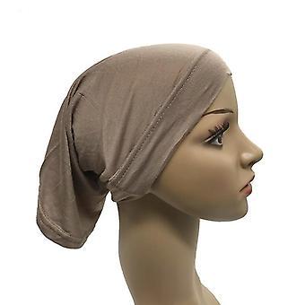 Muslim Kopftuch Baumwolle Unterwagen Stretch Hijab Abdeckung Kopfbedeckung