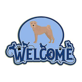 Decorative plaques carolines treasures ck8072dhw welcome door hanger