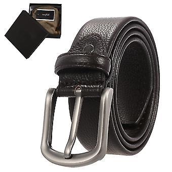 Pánské ležérní šaty s jednou sponou pro džíny(38)(černá)