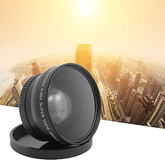 58mm 0.45 X Wide Angle Macro Lens Suitable For 58m Camera Lens