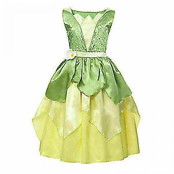 夢プリンセスティアナ女の子ファンシードレスとカエルの子供の衣装