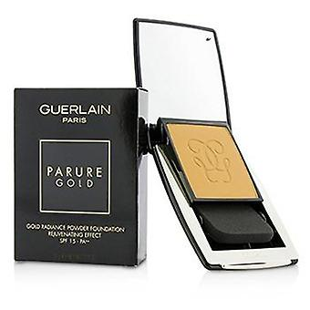 Guerlain Parure kulta nuorentava kulta säteily jauhe säätiö SPF 15-# 04 beige Moyen-10g/0.35 oz