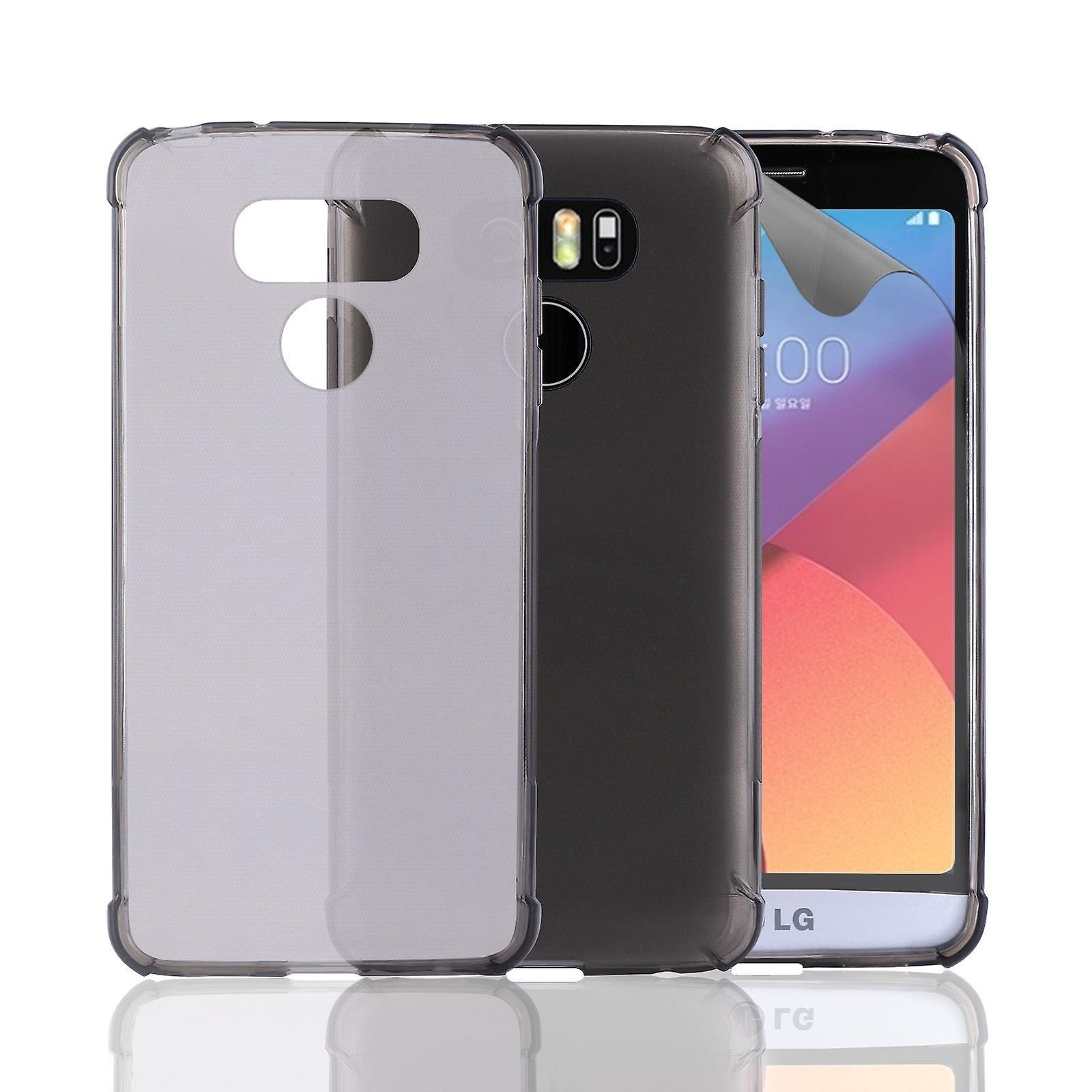 32nd Tough Gel case for LG G6 - Graphite