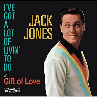 Jack Jones - I'Ve Got a Lot of Livin' to Do/Gift of Love [CD] USA import