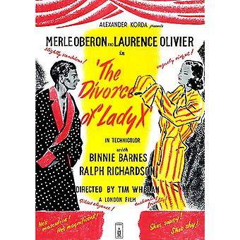 Scheiding van Lady X [DVD] USA import