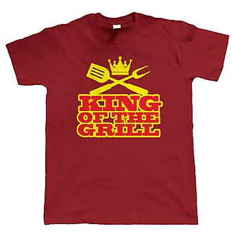 BBQ King des Grills, Mens Funny T-Shirt