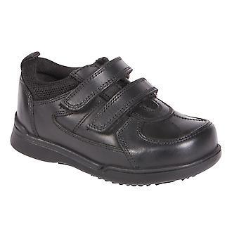 Hush Puppies jongens Liam School schoenen zwart F montage