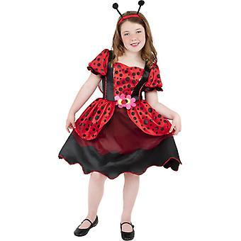 Marienkäferkostüm Käfer Kleid Kinderkostüm