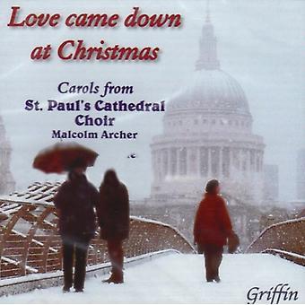 Carols - Love Came Down at Christmas [CD] USA import