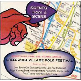 Greenwich Village Folk Festival - Scenes From a Scene [CD] USA import