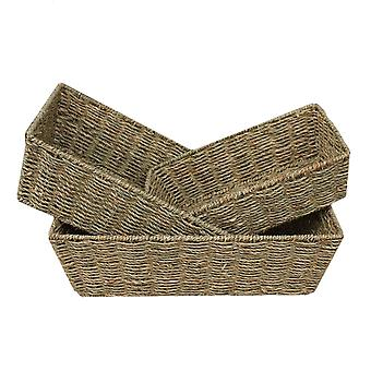 Conjunto de Seagrass cônico 3 bandejas