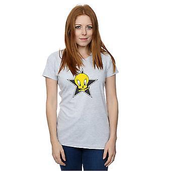 Looney Tunes Women's Tweety Pie Star T-Shirt