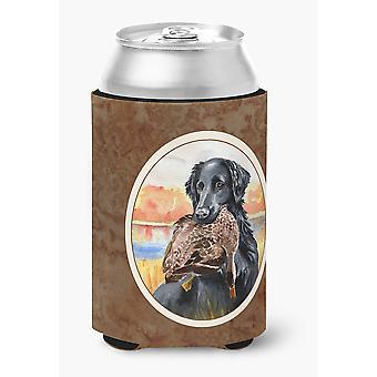 Carolines Treasures  7032CC Flat Coated Retriever Can or Bottle Hugger
