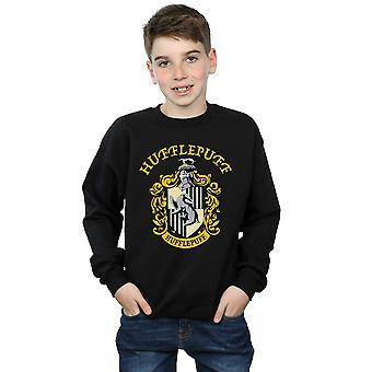 Harry Potter Boys Hufflepuff Crest Sweatshirt