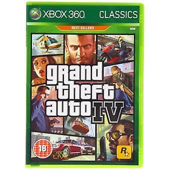 GTA 4 BBFC klass (Xbox 360)-ny