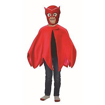 Masque de mascarade Costume Gufetta Superpigiamini PJ