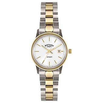 Rotary Womens Avenger | Two-Tone Stainless Steel Bracelet | LB02736/02 Watch
