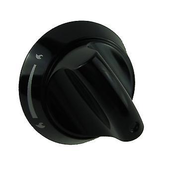 HOTPOINT HAG60X kontroll knotter kokeplater svart