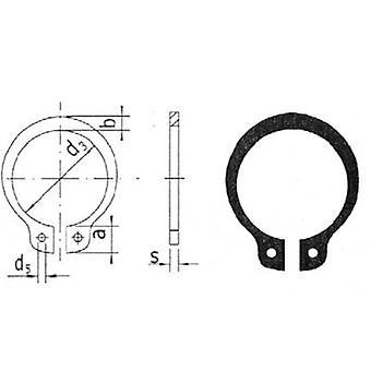 Behoud van de schacht ring Reely geschikt voor as diameter: 10 mm 20 PC('s)