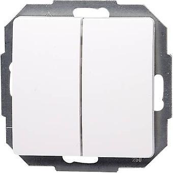 Kopp invoegen Series switch Parijs wit 650502062