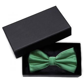 Fly green uni gloss solid loop Fabio Farini of noble bow tie