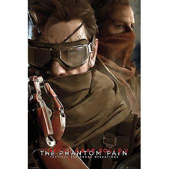 Metal Gear Solid V bril Poster Poster afdrukken